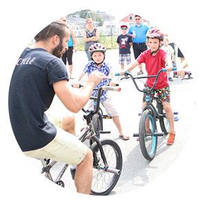 apprendre BMX Flatland Montreal Quebec